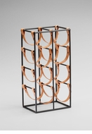 Brighton 8 Bottle Wine Rack by Cyan Design