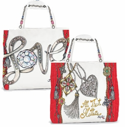 Brighton All That Glitters Tote Bag - Free with $100 Brighton Purchase!