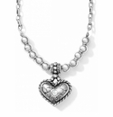 Brighton Bella Feminine Heart Necklace