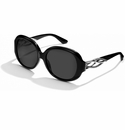 Brighton Black Neptune's Rings Swirl Sunglasses