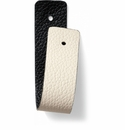 Brighton Christo Narrow Strap White-Black