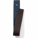 Brighton Christo Slim Strap Atlantic Blue-Chocolate