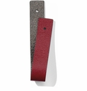 Brighton Christo Slim Strap Pewter-Lipstick