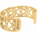 Brighton Gold Christo Madrid Narrow Cuff Bracelet
