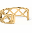 Brighton Gold Christo Sydney Narrow Cuff Bracelet