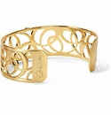 Brighton Gold Christo Vienna Narrow Cuff Bracelet
