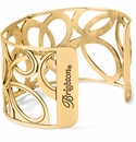 Brighton Gold Christo Vienna Wide Cuff Bracelet