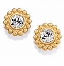 Brighton Gold Twinkle Mini Post Earrings