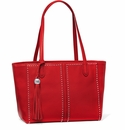 Brighton Jax City Red Tote