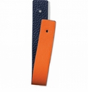 Brighton Orange and Navy Christo Slim Strap