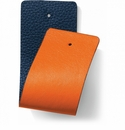 Brighton Orange Navy Christo Wide Strap