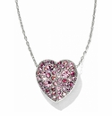 Brighton Pink Anatolia Heart Reversible Necklace