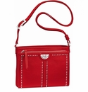 Brighton Pretty Tough City Organizer - Lipstick Red