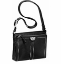 Brighton Pretty Tough City Organizer Purse - Black