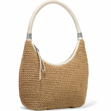 Brighton Shelby Straw Shoulder Bag