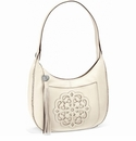 Brighton Silvana White Hobo Handbag