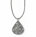 Brighton Silver Anatolia Convertible Reversible Necklace