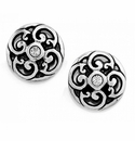 Brighton Silver Betsey Mini Post Earrings