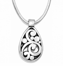 Brighton Silver Contempo Necklace