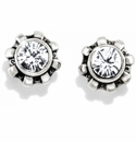 Brighton Silver Dazzler Mini Post Earrings