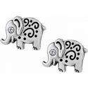 Brighton Silver Elli Mini Post Earrings