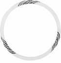 Brighton Silver Eternity Knot Bangle