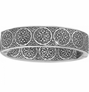 Brighton Silver Ferrara Thin Hinged Bangle