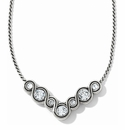 Brighton Silver Infinity Sparkle Necklace