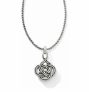 Brighton Silver Interlok Petite Necklace