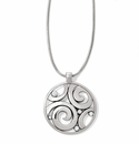 Brighton Silver London Groove Necklace