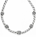 Brighton Silver Meridian Necklace