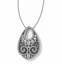 Brighton Silver Mumtaz Teardrop Necklace