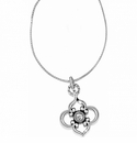 Brighton Silver Toledo Convertible Long Necklace