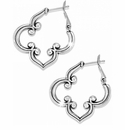Brighton Silver Toledo Hoop Earrings