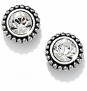 Brighton Silver Twinkle Medium Post Earrings