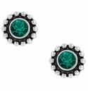 Brighton Twinkle Mini Post Earrings-Emerald