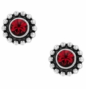 Brighton Twinkle Mini Post Earrings-Garnet