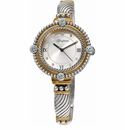 Brighton Two-Toned Costa Mesa Watch with Swarovski Crystals