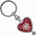 Brighton Water Lily Red Key Fob