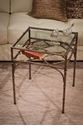 Bronze Bamboo Table Home Decor