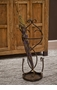 Bronze Flare Scroll Umbrella Stand Home Decor