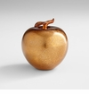Bronze Glass Apple Sculpture by Cyan Design