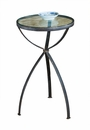 Bronze Glass Top Table Home Decor