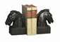 Dessau Home Bronze Iron Horsehead Bookends Home Decor