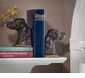Dessau Home Bronze Lab Iron Bookends Home Decor