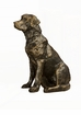 Dessau Home Bronze Labrador Retriever Home Decor