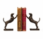 Dessau Home Bronze Leaning Hound Bookends Home Decor