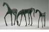 Bronzed Brass Grazing Horse Sculpture by Cyan Design (Filly and Walking Horses are Sold Separately)