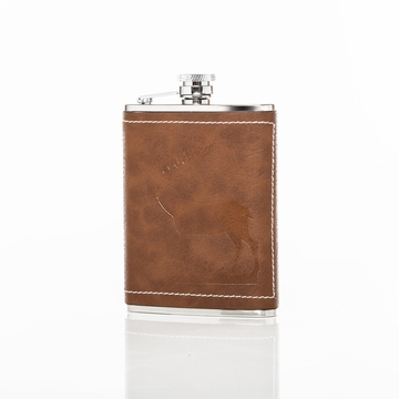 Brouk and Co ''Oh Deer'' 6oz Flask