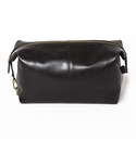 "Brouk and Co ""The Journeyman"" Dopp Kit, Black Vegan Leather"